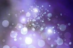 Пурпуровое bokeh стоковое изображение rf