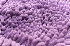 Пурпуровое microfiber Стоковое Фото