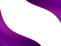 пурпуровые волны Стоковая Фотография RF
