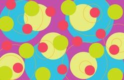 пурпуровые ретро кольца Стоковая Фотография RF