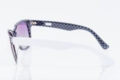 пурпуровые солнечные очки Стоковые Изображения RF