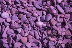 пурпуровые утесы Стоковое Фото