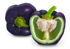 Пурпуровый перец колокола Стоковая Фотография