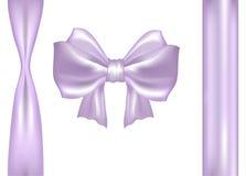 Пурпуровый смычок подарка Иллюстрация штока