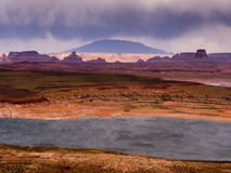 пурпуровый шторм Стоковое фото RF