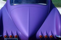 пурпур автомобиля Стоковая Фотография RF