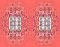 Пурпур безшовной картины пастельный красный белый коричневый Стоковое Изображение