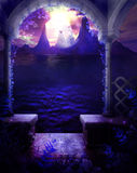 пурпур высочества Стоковая Фотография