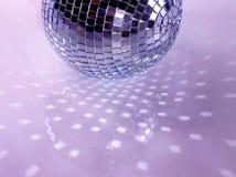 пурпур диско предпосылки Стоковая Фотография