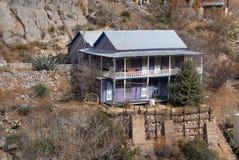 пурпур дома стоковое изображение
