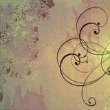 пурпур золота предпосылки cream Стоковые Изображения