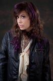 Пурпур и кожа Стоковое Изображение RF