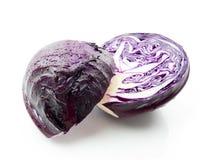 пурпур капусты Стоковая Фотография