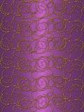 пурпур картины золота стоковое изображение