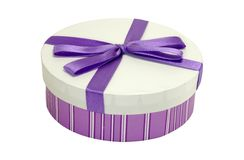 пурпур коробки стоковые фото