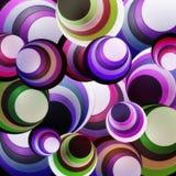пурпур круга предпосылки Стоковая Фотография RF