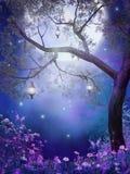 пурпур лужка Стоковое Изображение