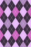 пурпур пинка картины argyle Стоковые Фотографии RF