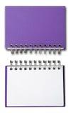 пурпур препроводительной записки книги Стоковые Изображения