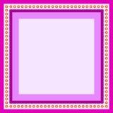 пурпур рамки Стоковые Фото