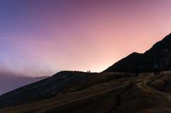 пурпур рассвета Стоковое Изображение