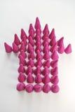 пурпур стрелки вверх Стоковое Фото