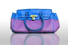 пурпур сумки стоковые изображения rf