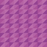 Пурпур треугольника полигона вектора картины безшовный Стоковая Фотография