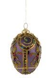 пурпур украшения рождества Стоковая Фотография