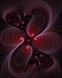 пурпур фрактали амброзии Стоковые Изображения RF