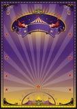 пурпур цирка Стоковая Фотография