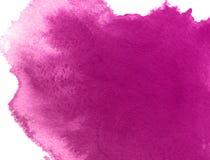 Пурпур чистит предпосылку щеткой краски руки акварели, иллюстрацию растра иллюстрация штока