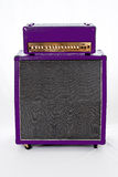 Пурпур Amp гитары Стоковые Изображения RF