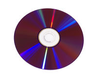 пурпур dvd Стоковое фото RF