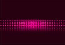 пурпур halftone Стоковые Изображения