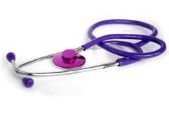 пурпур phonendoscope Стоковые Фотографии RF
