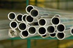 пускает сталь по трубам Стоковые Фото