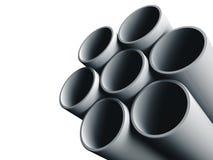 пускает сталь по трубам Стоковые Фотографии RF
