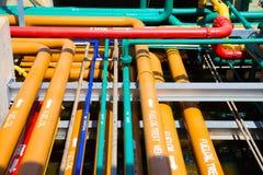 Пускать по трубам много систем Стоковая Фотография RF