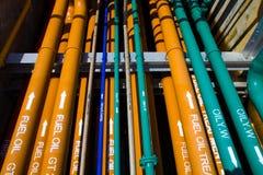Пускать по трубам много систем Стоковое Изображение RF