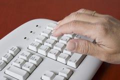 пусковая площадка клавиатуры численная Стоковая Фотография