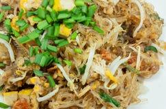 Пусковая площадка тайская, блюда вермишели соотечественника ` s Таиланда Стоковые Изображения RF