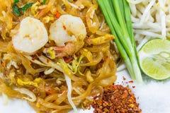 Пусковая площадка тайская (тайская еда) Стоковое Изображение RF