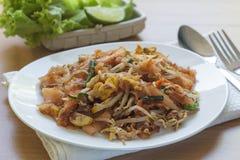 Пусковая площадка тайская (тайская еда) Стоковое фото RF