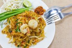 Пусковая площадка тайская (тайская улица еды) Стоковые Изображения