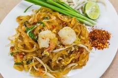 Пусковая площадка тайская (тайская улица еды) Стоковое Изображение RF