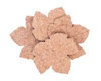 Пусковые площадки пробочки формы кленового листа Стоковое Изображение RF
