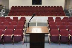 Пустая аудитория конференции стоковая фотография rf