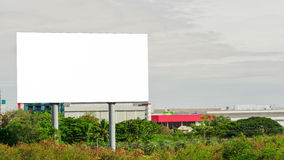 Пустая афиша готовая для рекламы Стоковое Фото