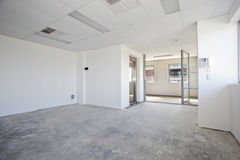 пустая белизна комнаты Стоковые Фото